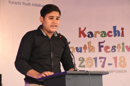 Declamation Competition, Distrtict Malir In Karachi Youth Festival 2017-18, Arts Council Karachi (25)