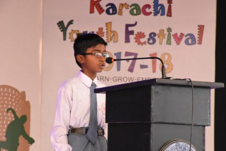 Declamation Competition, Distrtict Malir In Karachi Youth Festival 2017-18, Arts Council Karachi (27)