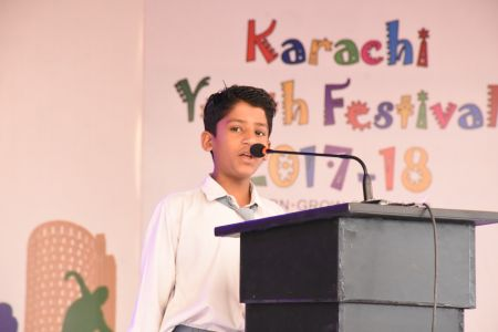 Declamation Competition, Distrtict Malir In Karachi Youth Festival 2017-18, Arts Council Karachi (28)