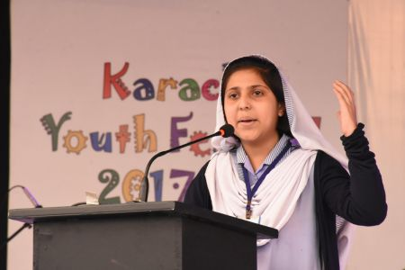 Declamation Competition, Distrtict Malir In Karachi Youth Festival 2017-18, Arts Council Karachi (2)