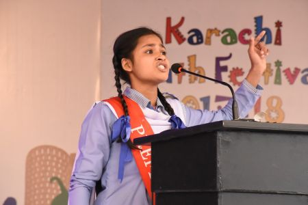 Declamation Competition, Distrtict Malir In Karachi Youth Festival 2017-18, Arts Council Karachi (3)