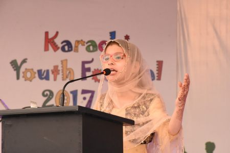 Declamation Competition, Distrtict Malir In Karachi Youth Festival 2017-18, Arts Council Karachi (41)