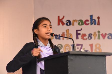 Declamation Competition, Distrtict Malir In Karachi Youth Festival 2017-18, Arts Council Karachi (4)