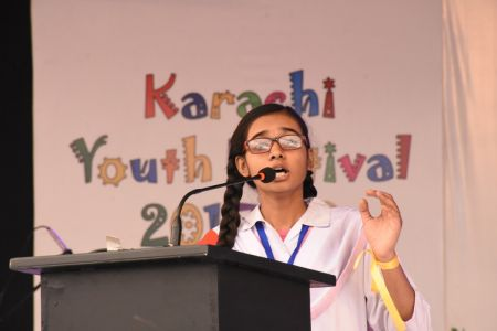 Declamation Competition, Distrtict Malir In Karachi Youth Festival 2017-18, Arts Council Karachi (5)