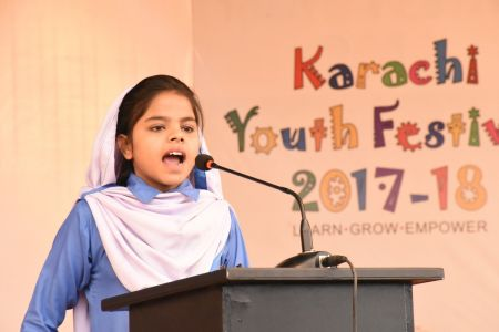 Diclamation Competition Distt. Korangi Youth Festival (15)
