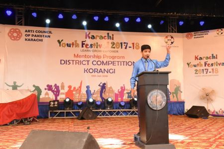 Diclamation Competition Distt. Korangi Youth Festival (25)