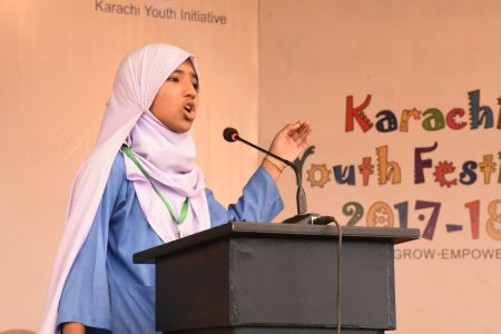 Diclamation Competition Distt. Korangi Youth Festival (28)