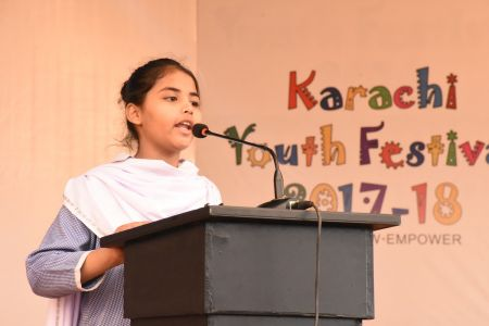 Diclamation Competition Distt. Korangi Youth Festival (30)