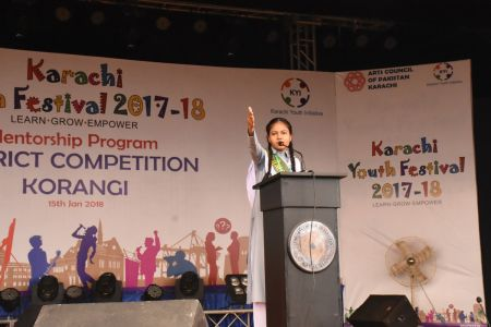 Diclamation Competition Distt. Korangi Youth Festival (5)
