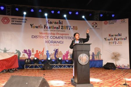 Diclamation Competition Distt. Korangi Youth Festival (9)