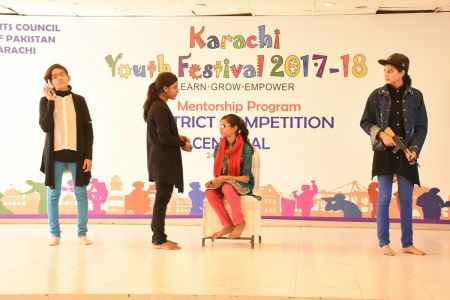 District Central -Theater Compeitions Of Karachi Youth Festival 2017-18 At Arts Council Karachi (13)