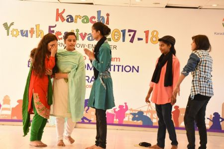 District Central -Theater Compeitions Of Karachi Youth Festival 2017-18 At Arts Council Karachi (14)