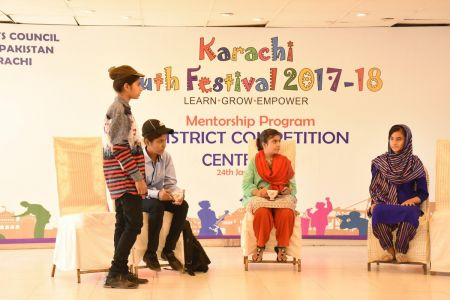 District Central -Theater Compeitions Of Karachi Youth Festival 2017-18 At Arts Council Karachi (3)