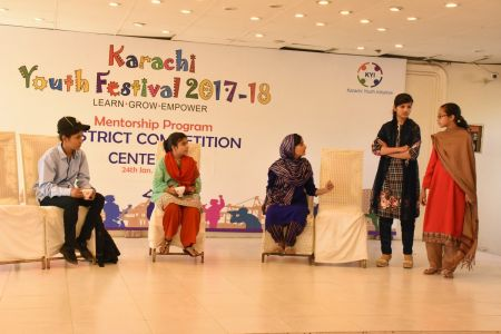 District Central -Theater Compeitions Of Karachi Youth Festival 2017-18 At Arts Council Karachi (5)