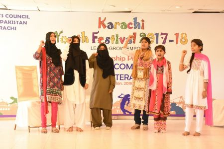 District Central -Theater Compeitions Of Karachi Youth Festival 2017-18 At Arts Council Karachi (7)