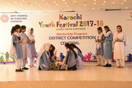 District Central -Theater Compeitions Of Karachi Youth Festival 2017-18 At Arts Council Karachi (9)