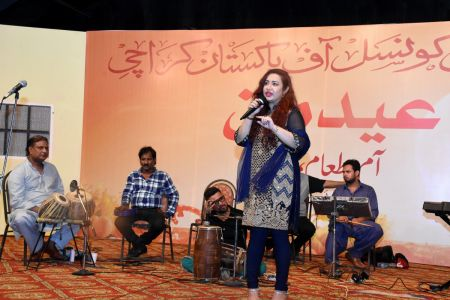 Eid Milan & Mango Party For Members Of Arts Council Karachi (81)