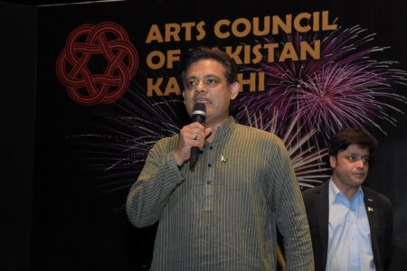 GB Member Kashif Grami 23rd March Celebrations At Arts Council Of Pakistan Karachi (7)