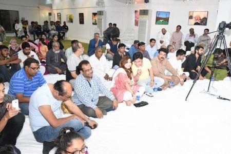 Ghazal Night With Shoaib Najmi And Kashia Kaif By Youth Committee Arts Council Of Pakistan Karachi (12)
