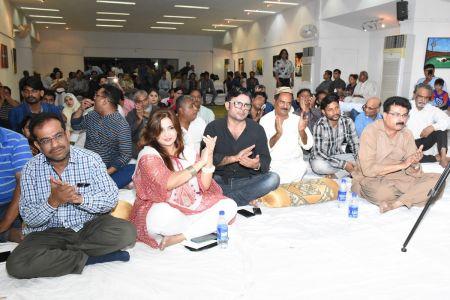 Ghazal Night With Shoaib Najmi And Kashia Kaif By Youth Committee Arts Council Of Pakistan Karachi (21)