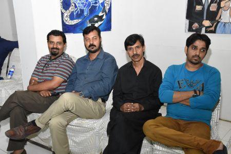 Ghazal Night With Shoaib Najmi And Kashia Kaif By Youth Committee Arts Council Of Pakistan Karachi (9)
