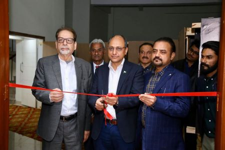 Inauguration Of ACIAC Thesis Exhibition 2020 At Arts Council Karachi (1)
