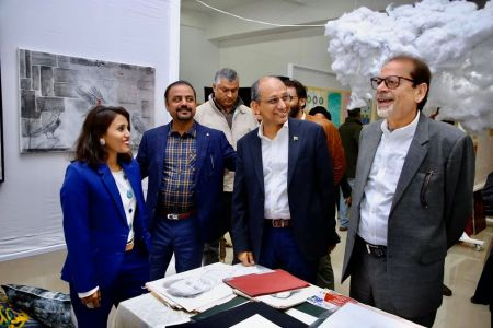 Inauguration Of ACIAC Thesis Exhibition 2020 At Arts Council Karachi (2)