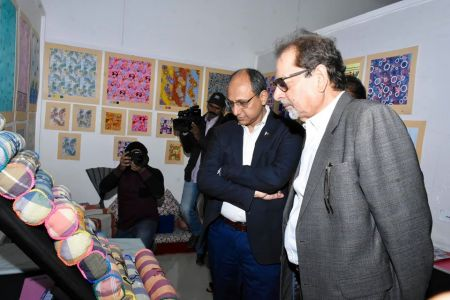 Inauguration Of ACIAC Thesis Exhibition 2020 At Arts Council Karachi (5)