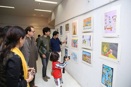 Inauguration Of National Child Art Exhibition 2019 (2)