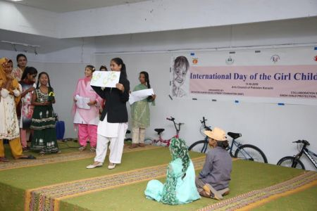 International Girl Child Day 2019 At Arts Council Karachi (1)