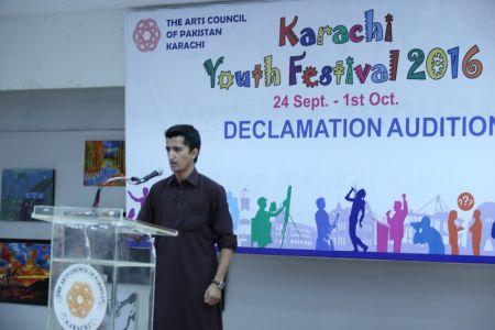 Karachi Youth Festival 2016 Declamation (11)