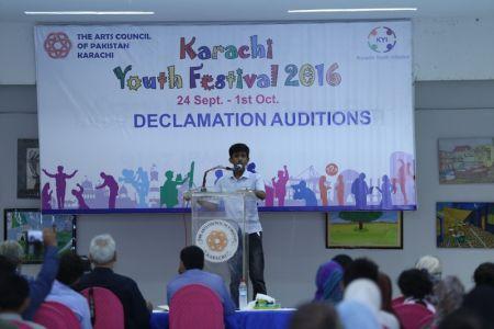 Karachi Youth Festival 2016 Declamation (13)