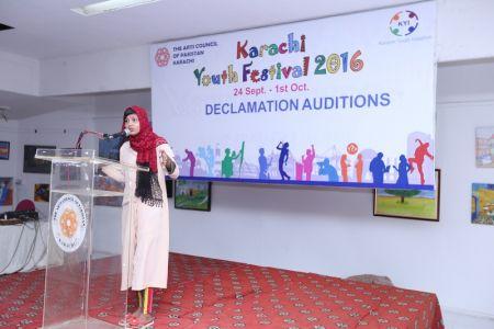 Karachi Youth Festival 2016 Declamation (14)