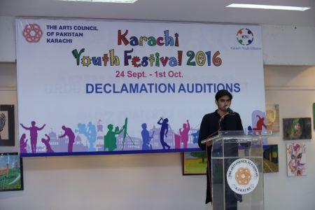 Karachi Youth Festival 2016 Declamation (18)