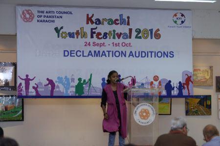 Karachi Youth Festival 2016 Declamation (19)