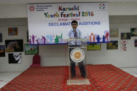 Karachi Youth Festival 2016 Declamation (26)