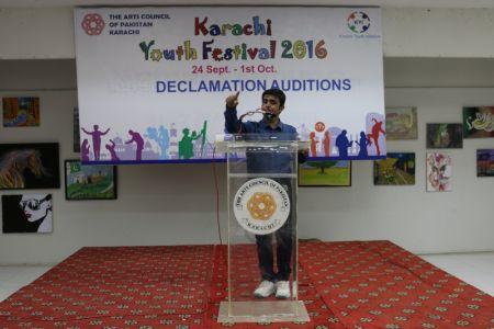 Karachi Youth Festival 2016 Declamation (27)