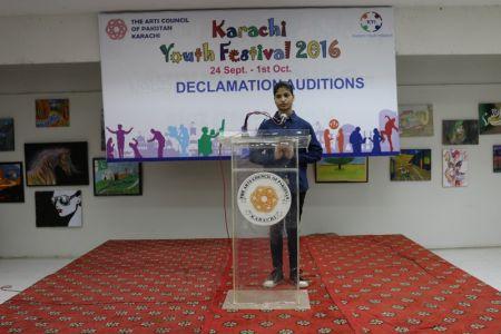Karachi Youth Festival 2016 Declamation (31)