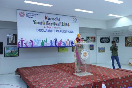 Karachi Youth Festival 2016 Declamation (9)
