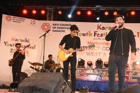 Kashmir Band Musical Performance In Karachi Youth Festival 2017-18 (19)