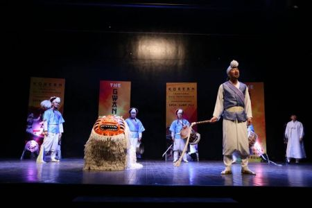 Korean Gwangdae Group Performance At Arts Council Karachi (7)