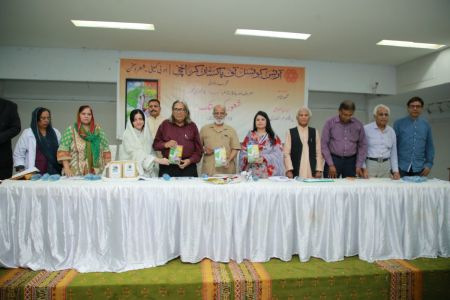 Launching Ceremony Of \'Shaoor Ki Dastak\' By Amna Alam At Arts Council Karachi (3)