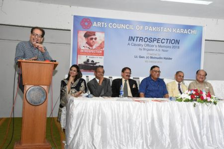 Launching Ceremony Of The Book INTROSPECTION  At Arts Council Karachi(11)
