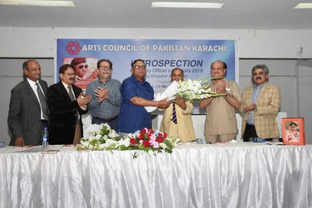 Launching Ceremony Of The Book INTROSPECTION  At Arts Council Karachi(14)