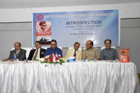 Launching Ceremony Of The Book INTROSPECTION  At Arts Council Karachi(1)