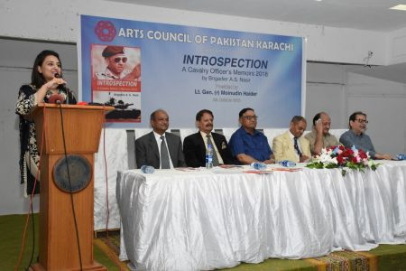 Launching Ceremony Of The Book INTROSPECTION  At Arts Council Karachi(4)