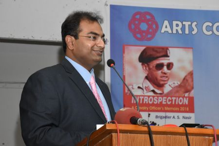 Launching Ceremony Of The Book INTROSPECTION  At Arts Council Karachi(7)