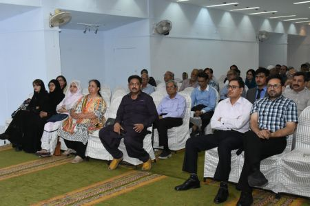 Launching Ceremony Of The Book Shahr-e-be-Mehr By Hassan Javed At Arts Council Karachi (15)