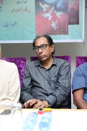 Launching Of \'Panion Men Ghulti Zameen\' Short Stories By Rahman Nishat At Arts Council Karachi  (8)