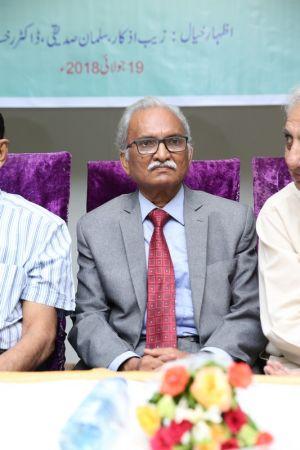 Launching Of \'Panion Men Ghulti Zameen\' Short Stories By Rahman Nishat At Arts Council Karachi  (9)